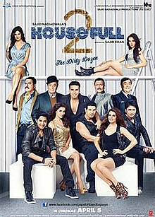 Housefull 2 Box Office Collection Day-wise India Overseas