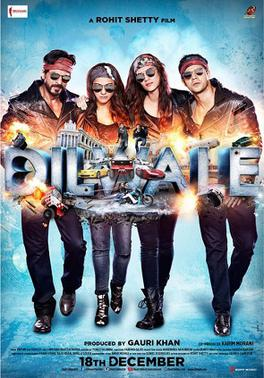 Dilwale (2015) Box Office Collection India Overseas