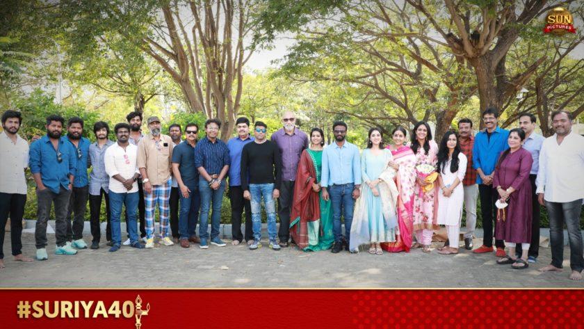 Suriya 40 Shooting Begins Today
