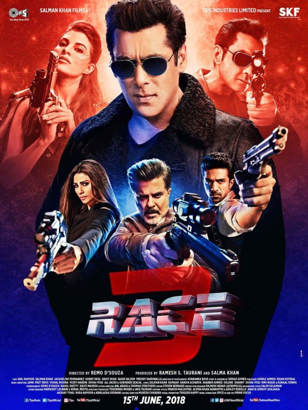Race 3 (2018) Box Office Collection Day Wise India