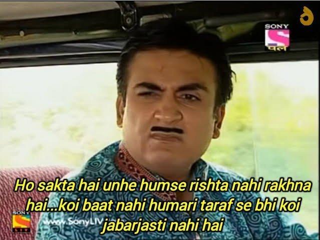 TMKOC Tapu Jethalal and Babita Ji Memes On Twitter