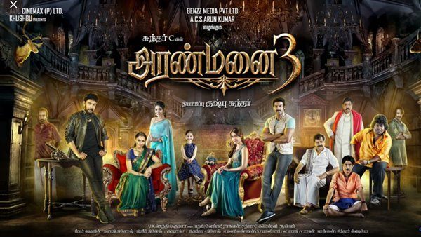 Aranmanai 3 Box Office Collection Day Wise India